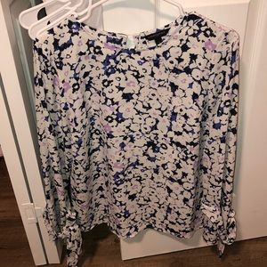 Floral Top from Banana Republic